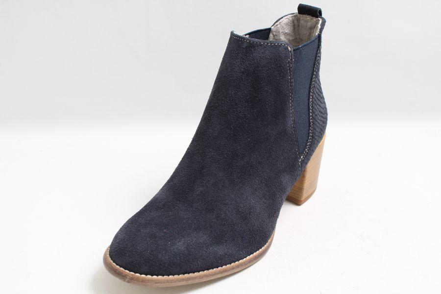 tamaris damen 25309 schlupfstiefel blau navy leather 848 39 eu. Black Bedroom Furniture Sets. Home Design Ideas